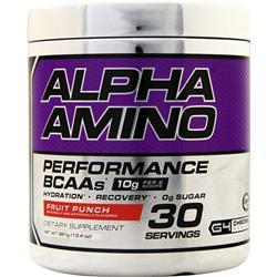 Cellucor Alpha Amino Performance BCAAs Fruit Punch 381 grams