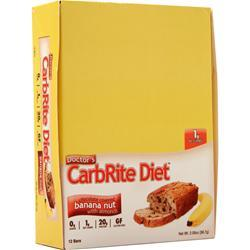 Universal Nutrition Doctor's Diet CarbRite Bar Chocolate Banana Nut 12 bars