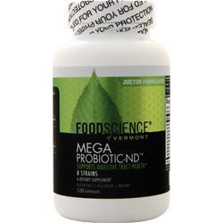 Food Science of Vermont Mega Probiotic-ND 120 caps