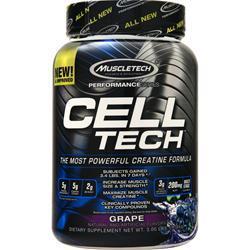 Muscletech Cell Tech Performance Series - Creatine Formula Grape 3 lbs