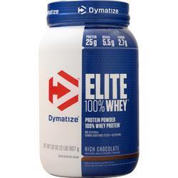 Dymatize Nutrition Elite 100% Whey Protein Rich Chocolate 2 lbs