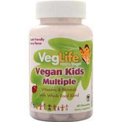 VegLife Vegan Kids Multiple Berry 60 chews