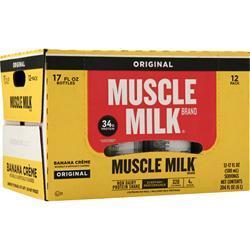 Cytosport Muscle Milk RTD Banana Cream (17 fl.oz.) 12 bttls