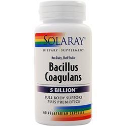 Solaray Bacillus Coagulans (5 billion) 60 vcaps
