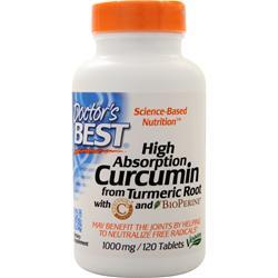 Doctor's Best High Absorption Curcumin with BioPerine 120 tabs