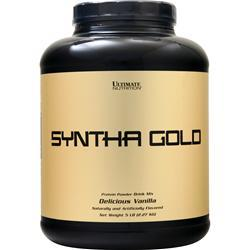 Ultimate Nutrition Syntha Gold (Buy 1 Get 1 Free) Delicious Vanilla 10 lbs