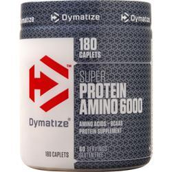 Dymatize Nutrition Super Amino Protein 6000  EXPIRES 11/28/19 180 cplts