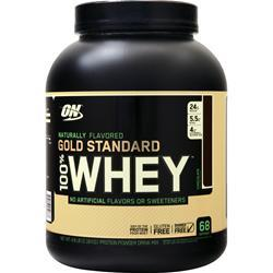 Optimum Nutrition 100% Whey Protein - Gold Standard (Natural) Chocolate 4.8 lbs