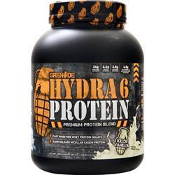 Grenade Hydra 6 Protein Killa Vanilla BEST BY 8/19 4 lbs