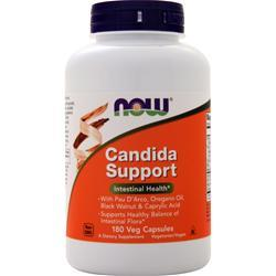 Now Candida Support 180 vcaps