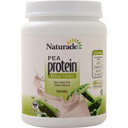 Naturade All Natural Pea Protein - Vegan Formula Vanilla 19.6 oz