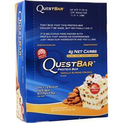 Quest Nutrition Quest Bar Vanilla Almond Crunch 12 bars