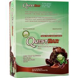 Quest Nutrition Quest Bar Mint Chocolate Chunk 12 bars