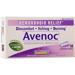 Boiron Hemorrhoid Relief - Avenoc Suppositories 10 count