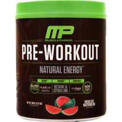 Muscle Pharm Pre-Workout - Natural Energy Fresh Cut Watermelon EXPIRES 5/19 348 grams
