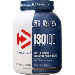 Dymatize Nutrition ISO-100 Cookies & Cream 3 lbs