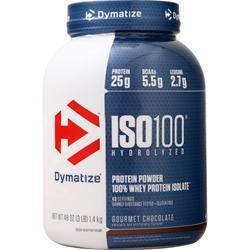 Dymatize Nutrition ISO-100 Gourmet Chocolate 3 lbs