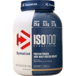 Dymatize Nutrition ISO-100 Gourmet Vanilla 3 lbs