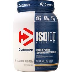 Dymatize Nutrition ISO-100 Gourmet Vanilla 1.6 lbs