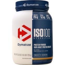 Dymatize Nutrition ISO-100 Smooth Banana 1.6 lbs