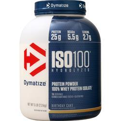 Dymatize Nutrition ISO-100 Birthday Cake 5 lbs