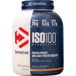 Dymatize Nutrition ISO-100 Orange Dreamsicle 5 lbs