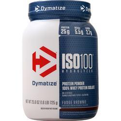 Dymatize Nutrition ISO-100 Fudge Brownie 1.6 lbs