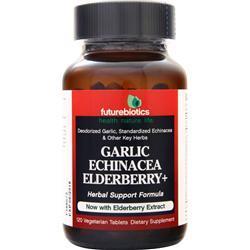 Futurebiotics Garlic Echinacea Elderberry + 120 tabs