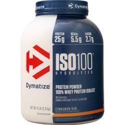 Dymatize Nutrition ISO-100 Cinnamon Bun 5 lbs