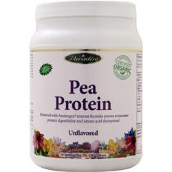 Paradise Herbs Pea Protein Unflavored 454 grams