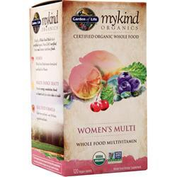 Garden Of Life My Kind Organics - Women's Multi 120 tabs