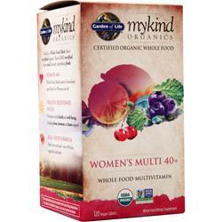 Garden Of Life My Kind Organics - Women's Multi 40+ 120 tabs