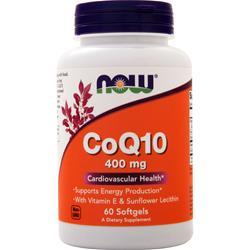 Now CoQ10 (400mg) 60 sgels
