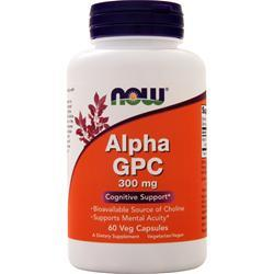 Now Alpha GPC (300mg) 60 vcaps