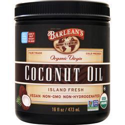 Barlean's Organic Virgin Coconut Oil Liquid  BEST BY 1/10/20 16 fl.oz
