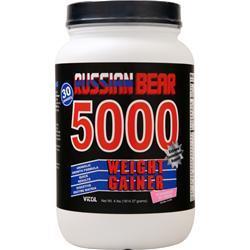 Vitol Russian Bear 5000 Weight Gainer Ice Cream Strawberry 4 lbs