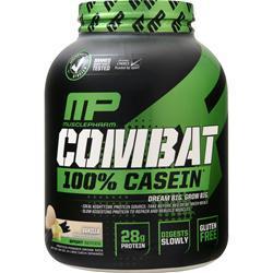 Muscle Pharm Combat 100% Casein Protein Vanilla 4 lbs