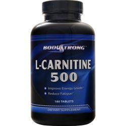 BodyStrong L-Carnitine (500mg) 180 tabs