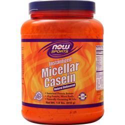 Now Micellar Casein Unflavored 1.8 lbs