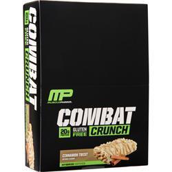 Muscle Pharm Combat Crunch Bar Cinnamon Twist 12 bars