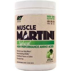 GAT Muscle Martini Natural Appletini 345 grams