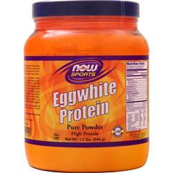 Now Eggwhite Protein - 100% Pure Unflavored 1.2 lbs