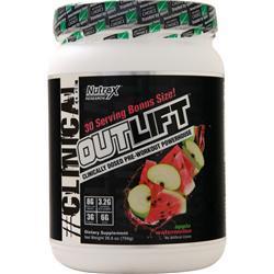 Nutrex Research OutLift - Pre Workout Powerhouse Apple Watermelon 759 grams