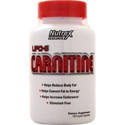 Nutrex Research Lipo-6 Carnitine 120 lcaps
