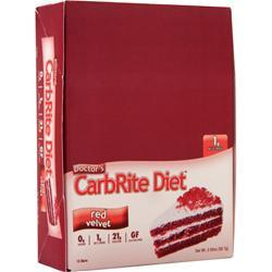 Universal Nutrition Doctor's Diet CarbRite Bar Red Velvet 12 bars