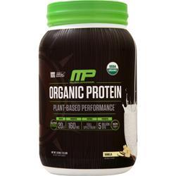 Muscle Pharm Organic Protein - Plant-Based Performance Vanilla 1.13 kg