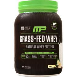 Muscle Pharm Grass-Fed Whey (Natural) Vanilla 840 grams