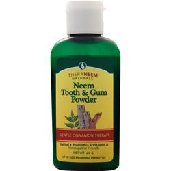 Theraneem Organix Neem Tooth & Gum Powder Cinnamon 40 grams
