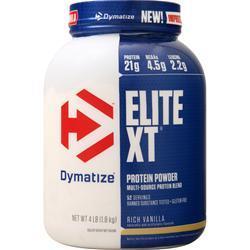Dymatize Nutrition Elite XT Protein Powder Rich Vanilla 4 lbs
