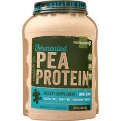 Nutrasumma Fermented Pea Protein Unflavored 2.15 lbs